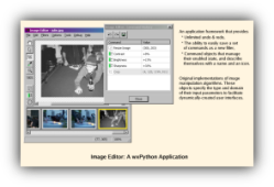 Python-based image editor