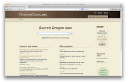 Accessible legal reference