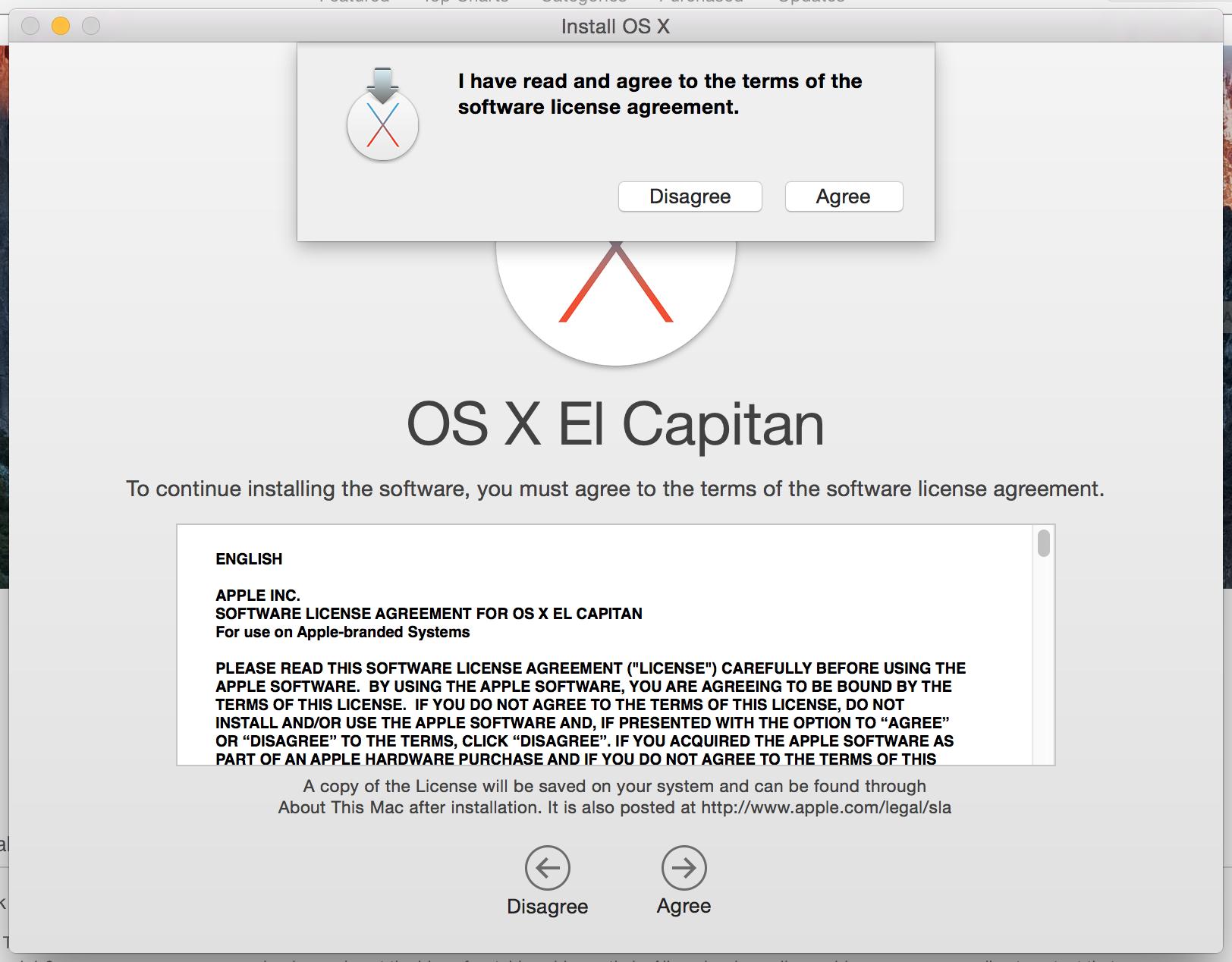 OS X El Capitan License: in Plain English